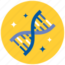 dna, genes, genetics, laboratory, medicine, research, science icon