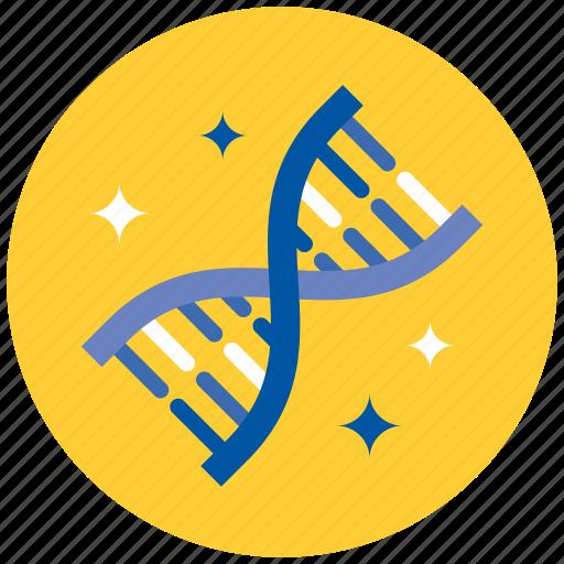 dna, genes, genetics, laboratory, medicine, research, science icon