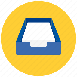 document, documents, drawer, files, folder, paper, sheet icon