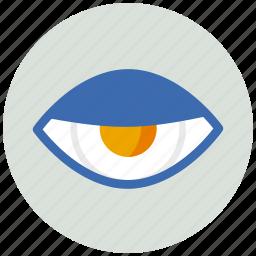 evil, eye, view icon