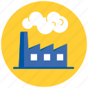 building, factory, industrial, industry icon