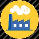 industry, factory, building, industrial