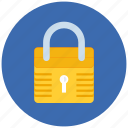 lock, locked, protect, protection, safe, safety, secure, security icon