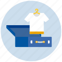 clothing, luggage, tshirt icon