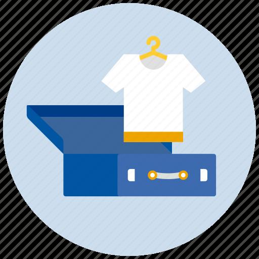 clothing, luggage, tshirt icon