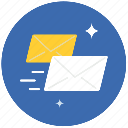communication, envelope, fast, letter, mail, message, speed icon