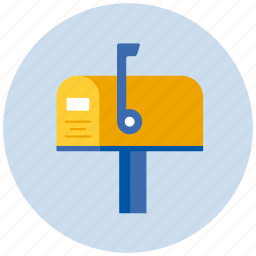 letter, mailbox, message icon