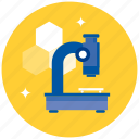 chemistry, experiment, laboratory, medicine, microscope, science icon