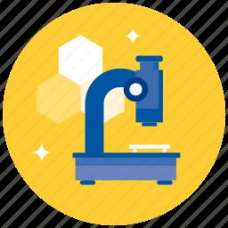 chemistry, experiment, laboratory, medicine, microscope, science icon