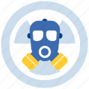 gas, mask, nuclear icon