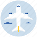 airplane, flight, plane, transport, transportation icon