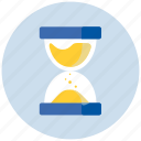 event, plan, sand, schedule, time, timer, wait icon