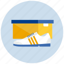 box, closed, shoe, sneaker, sport icon