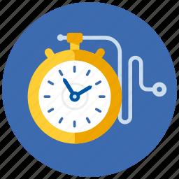 clock, schedule, stopwatch, timer, watch icon