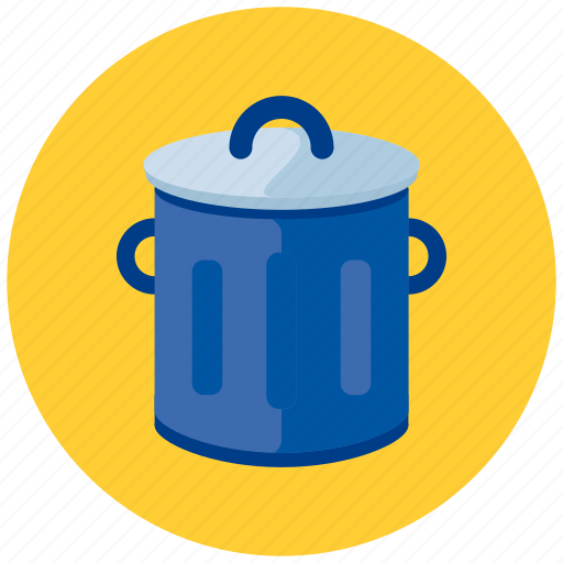 bin, garbage, trash icon