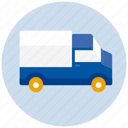 delivery, logistics, lorry, transport, transportation, truck, vehicle icon