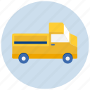 delivery, pickup, transport, transportation, truck, vehicle icon