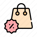 discount, sale, spring icon