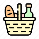 easter, holiday, picnic, spring icon