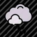 raining, spring, weather icon
