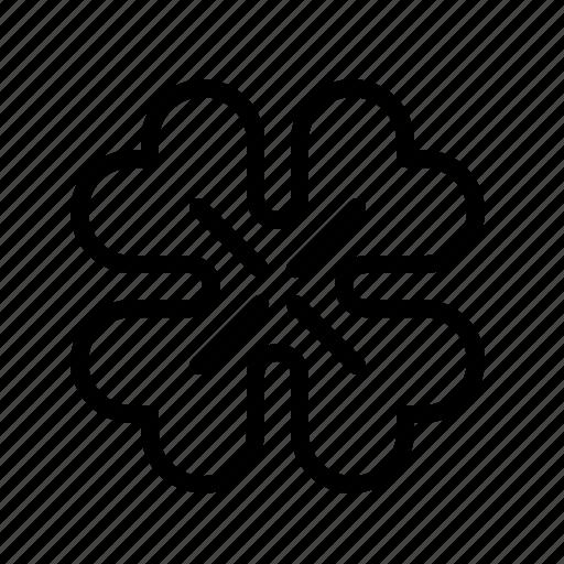 day, flower, leaf, patrick, saint, shamrock, spring icon