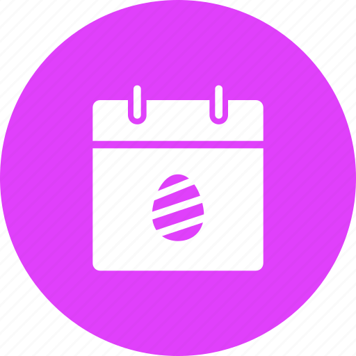 calendar, celebration, day, easter, egg, event, festival icon