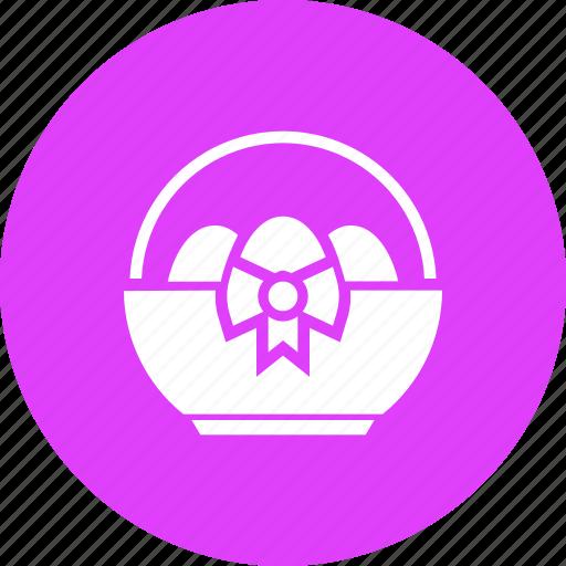 Basket, easter, egg, eggs, gift, present, spring icon - Download on Iconfinder