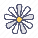 bloom, blossom, chamomile, easter, floral, flower, spring icon