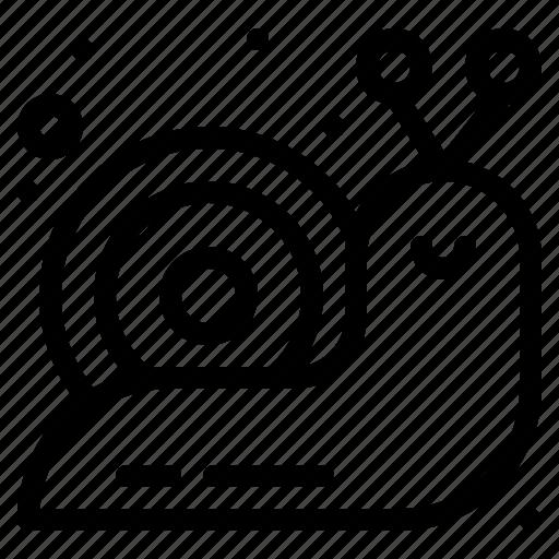 Mollusc, slow, slug, snail, spiral icon - Download on Iconfinder