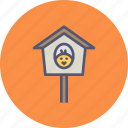 bird, birdhouse, chicken, nest, sparrow, spring icon