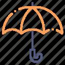 umbrella, protection, rain, weather, rainy