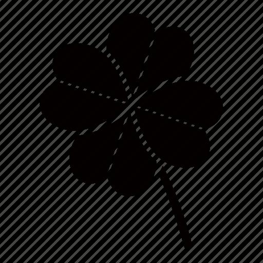 clover, four, green, irish, leaf, lucky, shamrock icon