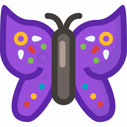 butterfly, garden, insect, meadow, nature, spring, yumminky icon