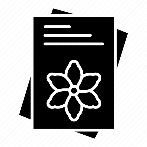 File, flower, seeds, spring icon - Download on Iconfinder
