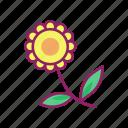 flower, leaf, nature, spring