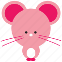 animal, cute, mouse, pet, rat