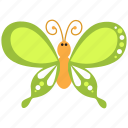 animal, butterfly, flower, fly, insect, spring