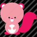 animal, cute, nature, spring, squirrel