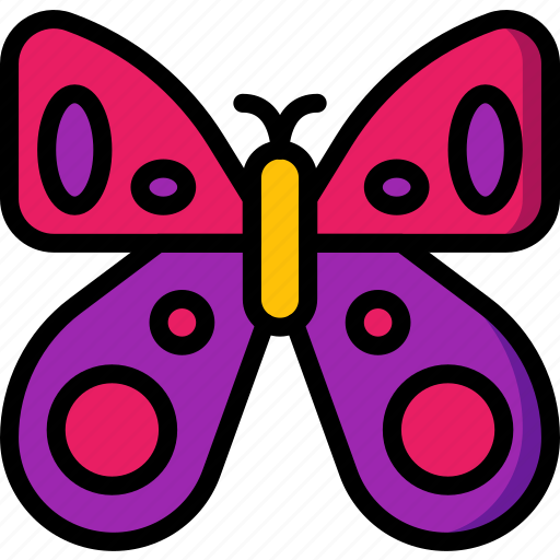 bug, butterfly, easter, spring icon