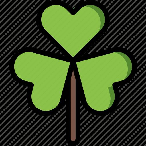 clover, easter, spring icon