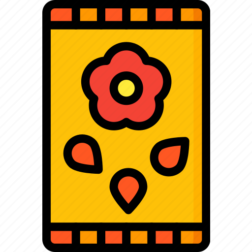 easter, flower, seeds, spring icon