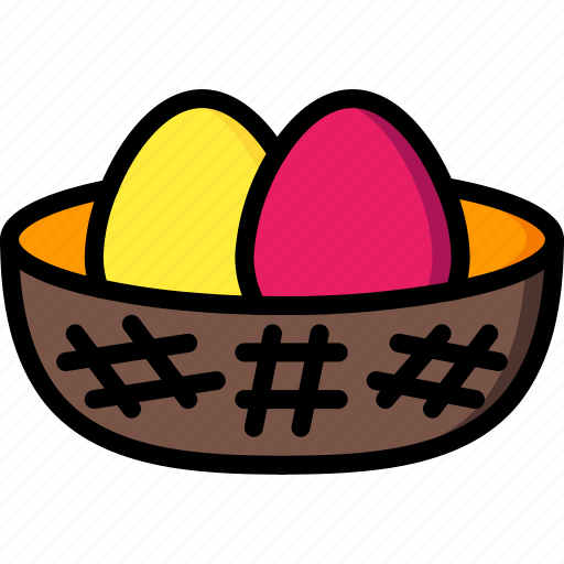 easter, eggs, spring icon