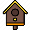 bird, easter, house, spring icon