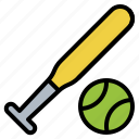 ball, baseball, outdoor, play, recreation icon