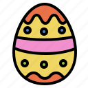 art, decorate, easter, egg, painter icon