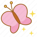 born, butterfly, magic, magical, moth, spring, transformation icon