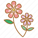 bloom, flower, flowers, garden, nature, pretty, spring icon
