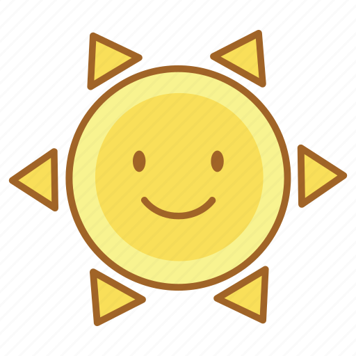 fun, happy, smile, summer, sun icon
