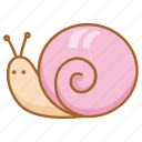 garden, mollusc, sea, shell, slow, snail icon