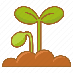 gardening, growing, plant, planting, shoot, spring, sprout icon